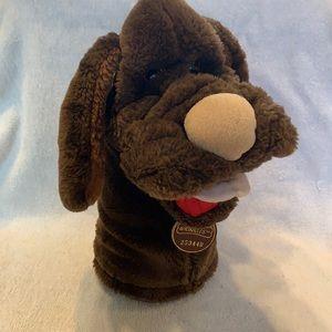 Vintage Wrinkles Dog Hand Puppet Plush Ganz